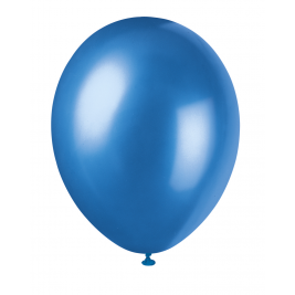 COSMIC BLUE Pearlised balloons 12
