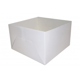 Cake Box Base Only - Folded and Boxed ( 18 Inch)- 25Pk