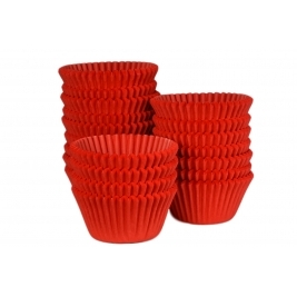 Red Muffin Cases - 500Pk