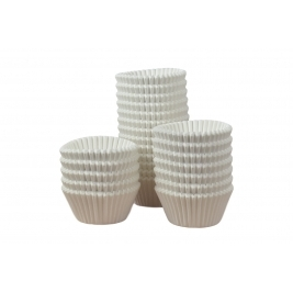 White Muffin Cases 51mmx38mm - 500Pk