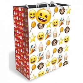 Emoji Gift Bag With Tag