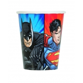 Justice League 9oz Cups (8pk)
