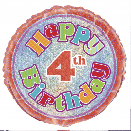 HAPPY 4TH BIRTHDAY 18
