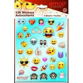 emoji Stickers Sheets/favours - Pack of 4