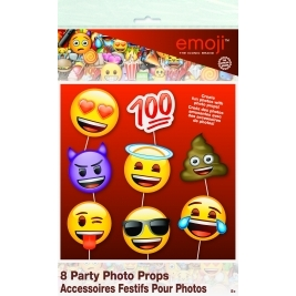 Emoji Faces Photo Booth Props