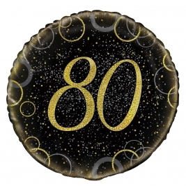 Glitzy Gold 80th Birthday 18
