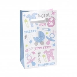 Baby Joy Baby Shower Paper Bags - Pack of 5