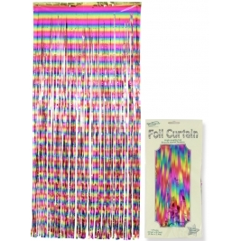 Rainbow Foil Door Curtain 0.90m x 2.40m