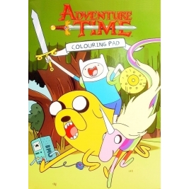 Adventure Time Colouring Pad