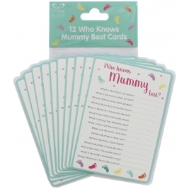 Baby Shower Party Who Knows Mummy Best Game