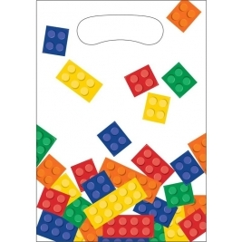 Block Party Loot Bags 16cm x 23cm - Pack of 8