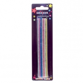 Multicolour Sparkler Candles 16pcs