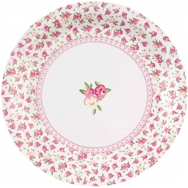 Frills and Spills Plates - Pack of 8