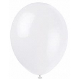 Linen White Premium Latex Balloons 12 Inch - Pack of 10