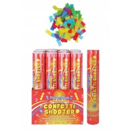 Multicolour Paper Confetti Shooter/ Cannon - 30cm