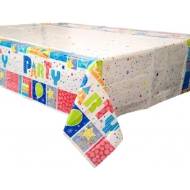 Party Style Plastic Table Cover 84