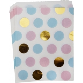 Pattern Works Multi-Dots Sweetie Bags - Pack of 5
