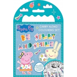 Peppa Pig Carry Along Coloring Set