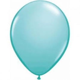 Tropical Teal Plain Latex Balloons 11