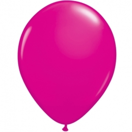 Wild Berry Plain Latex Balloons 11