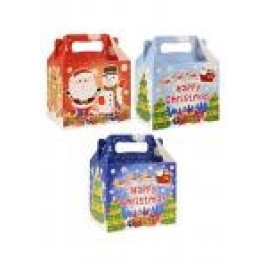 Xmas Party Meal / Treat Boxes - Pack of 12