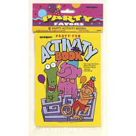 ACTIVITY BOOKS - PACK OF 8