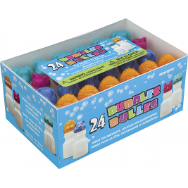 ANIMAL BUBBLES .6 OZ ASSORTED DESIGNS  - PACK OF 24