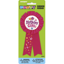 Birthday Girl Award Ribbon