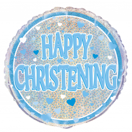 Prismatic  BLUE CHRISTENING  – 18