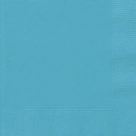 CARIBBEAN TEAL  LUNCHEON NAPKINS - Pack of 20