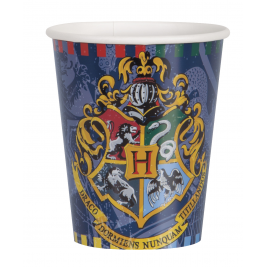9oz Harry Potter Paper Cups, Pack of 8