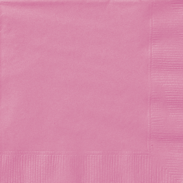 HOT PINK LUNCHEON NAPKINS - Pack of 20