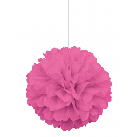 hot pink colour PUFF DECOR