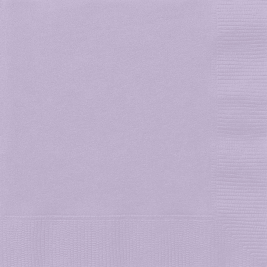 LAVENDAR LUNCHEON NAPKINS - Pack of 50
