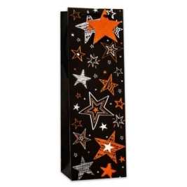Star Bottle Bag - Foil (Sold in 6s)