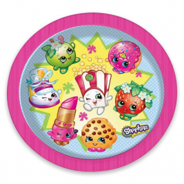 Official Shopkins Party Plates Pack of 8