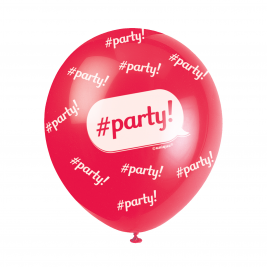 PARTY  ASSORTED BALLOONS PACK OF 5