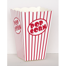 ENTERTAINING ACCESSORIES  POPCORN  BOXES - PACK OF 10
