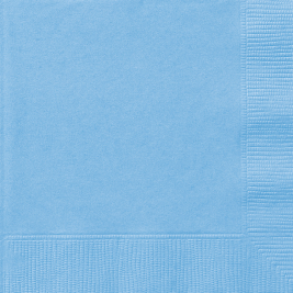 BABY BLUE  LUNCHEON NAPKINS - Pack of 20