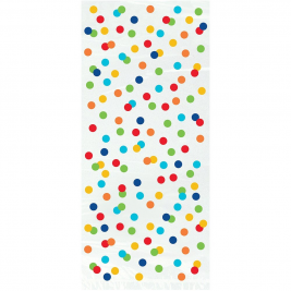 Rainbow Polka Dot Happy Birthday CELLO BAGS 11