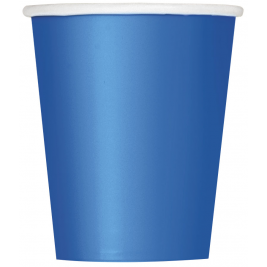 ROYAL BLUE  9 OZ. CUPS - Pack of 14