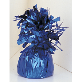 Royal Blue Foil Balloon Weights - Pack of 12