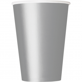 SILVER  9 OZ PaperCUPS - Pack of 14